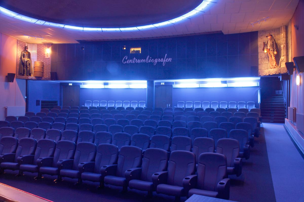 Ronneby, Centrumbiografen: Premiumstolar från Figueras (2014 ...